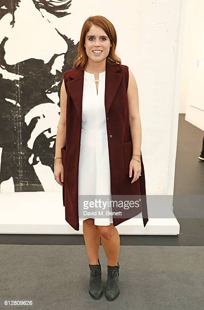 Princess Eugenie of York attends the VIP private view of the Frieze Art Fair 2016 in Regent's Park on October 5 2016 in London England