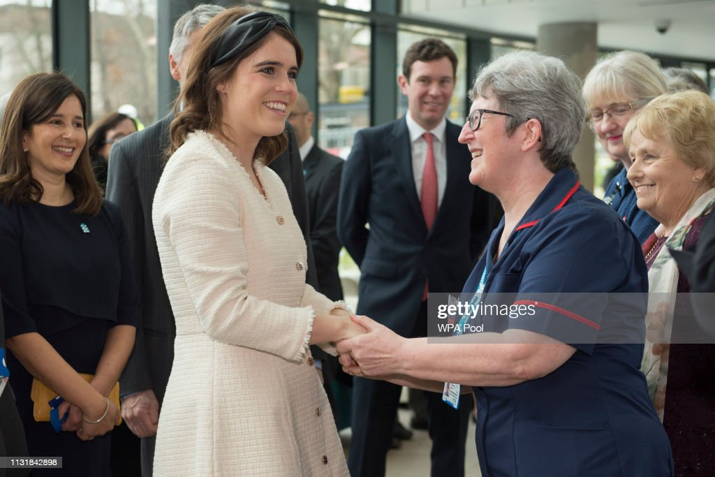 The Duke of York Visits The Royal National Orthopaedic Hospital : News Photo