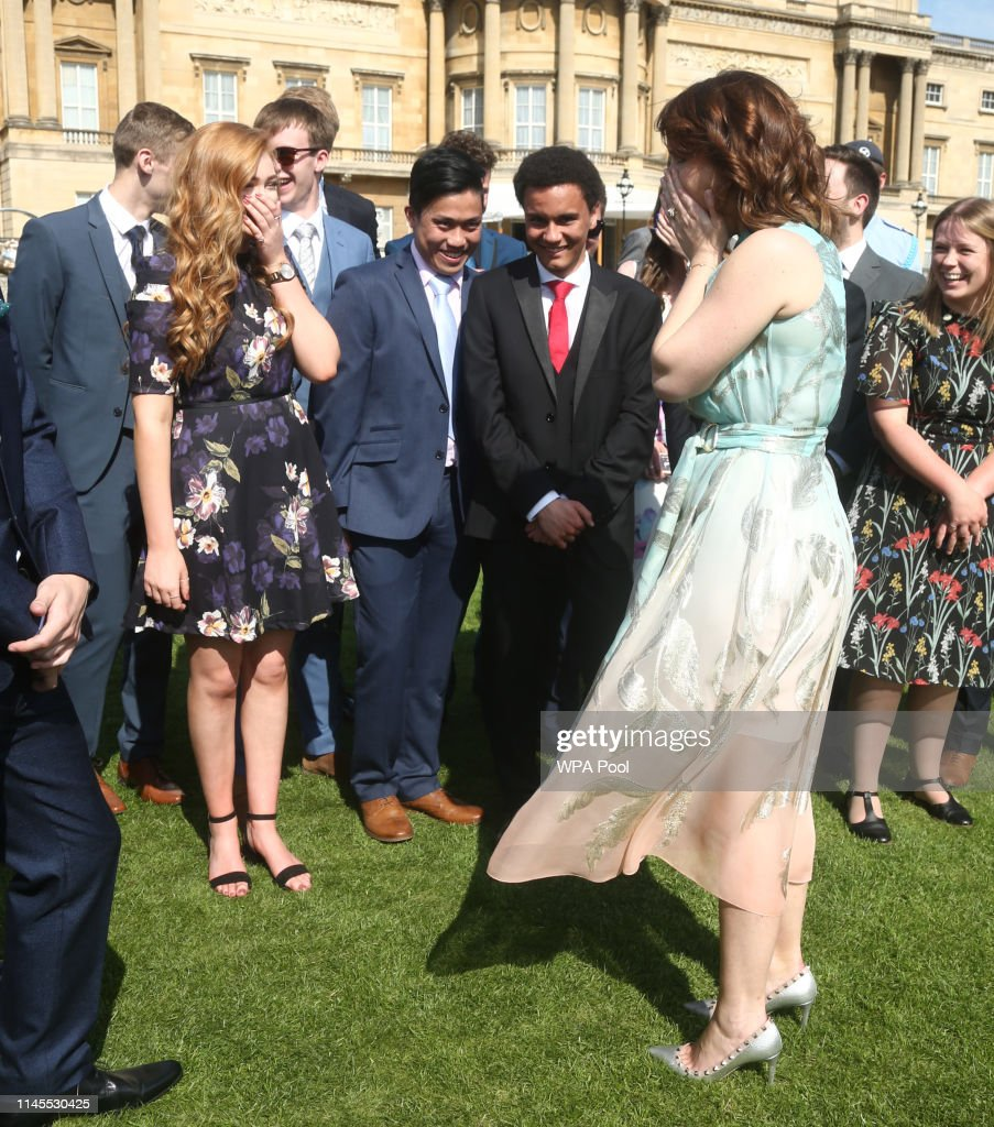 GBR: Duke Of Edinburgh Gold Award Presentations At Buckingham Palace