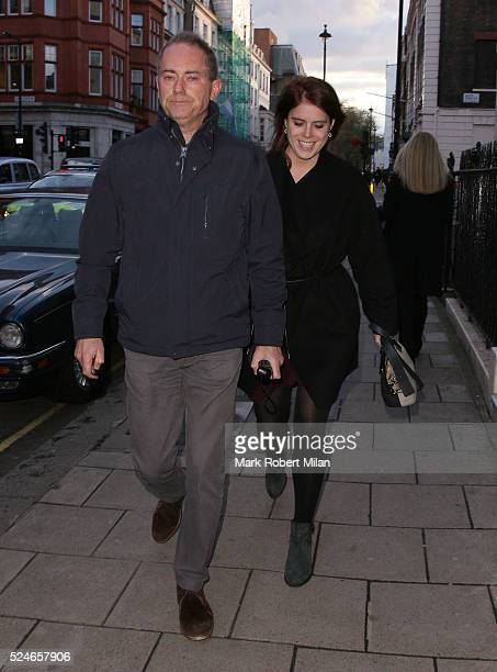 Princess Eugenie of York sighting on April 26 2016 in London England