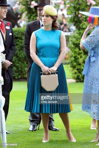 Princess Eugenie on day one of Royal Ascot at Ascot Racecourse on June 18, 2019 in Ascot, England.