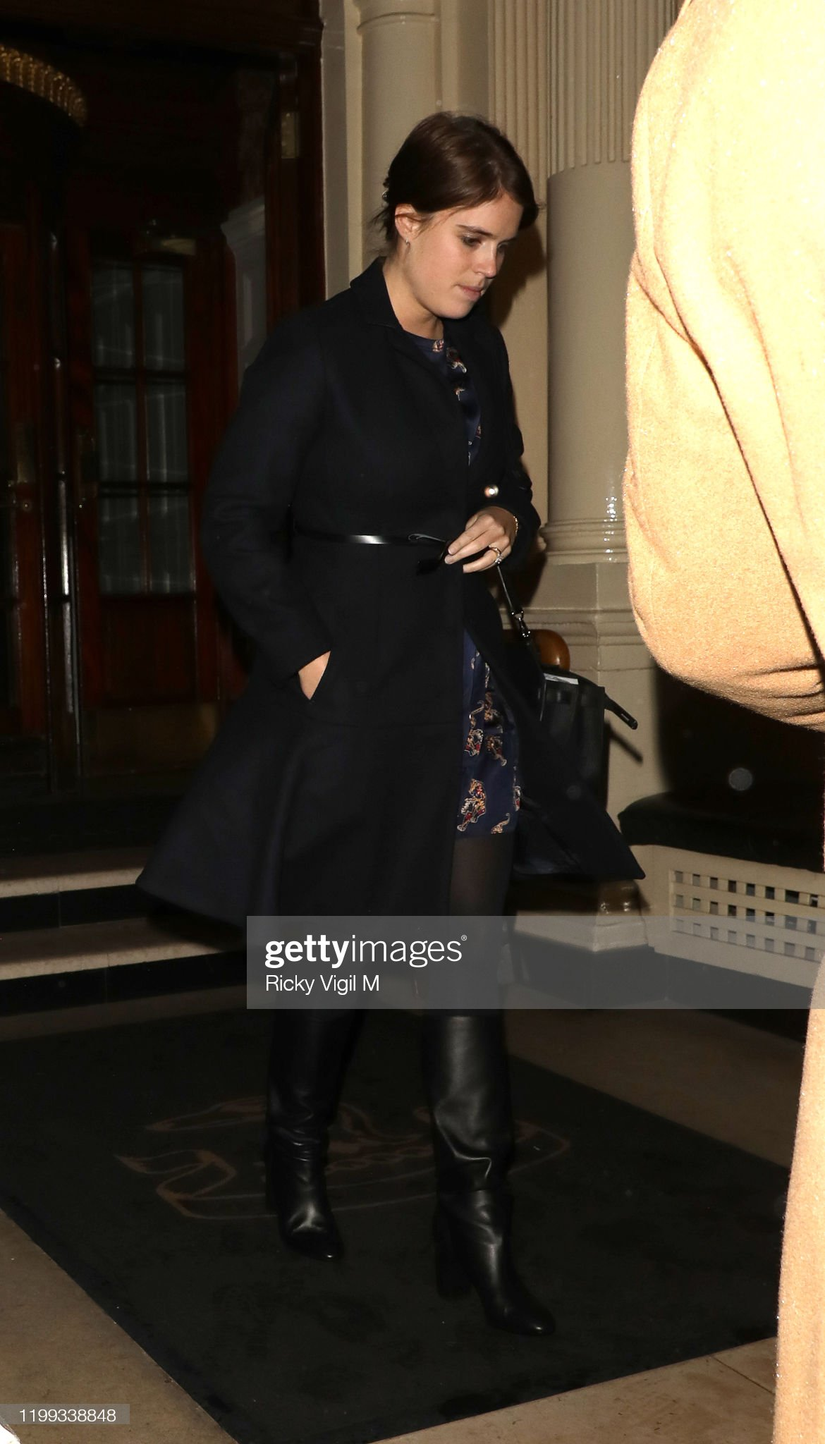 https://media.gettyimages.com/photos/princess-eugenie-seen-on-a-night-out-leaving-the-connaught-hotel-on-picture-id1199338848?s=2048x2048