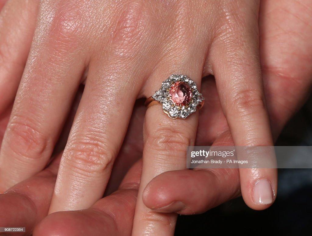 Princess Eugenie and Jack Brooksbank engaged : News Photo