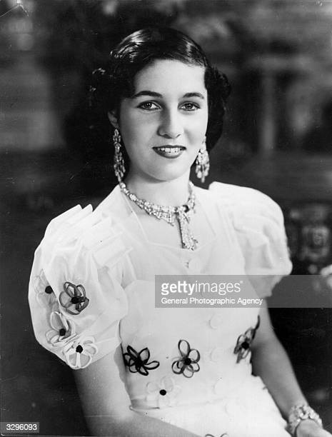 Princess Fawzieh sister of King Farouk of Egypt who married the Crown Prince of Iran in 1939