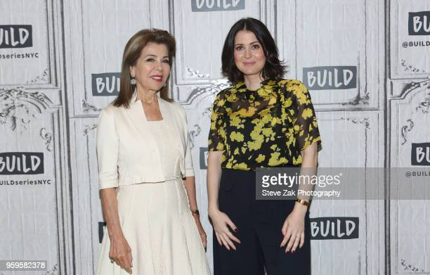 Princess Firyal of Jordan and Alexandra Shiva visit Build Series to discuss This is Home A Refugee Story at Build Studio on May 17 2018 in New York...