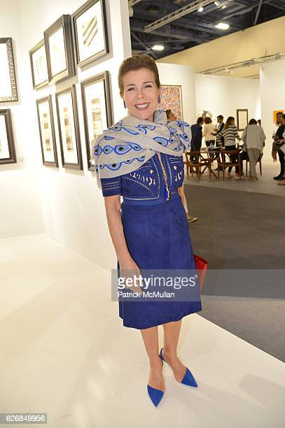 Princess Firyal of Jordan attend the The future is our only goal exhibiton at Galerie Gmurzynska at Art Basel Miami Beach 2016 at Miami Beach...