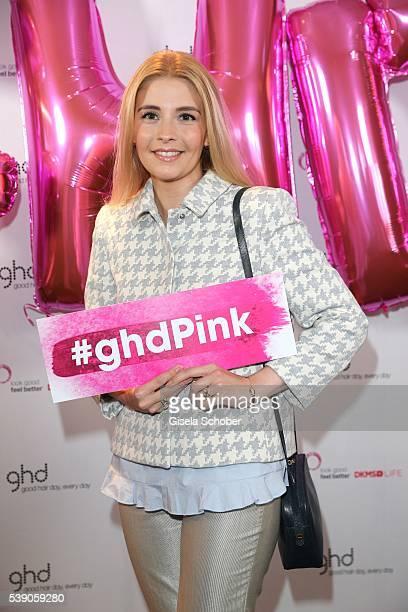 Princess Franziska zu SaynWittgensteinBerleburg during the ghd Life Pink Charity Lunch on June 8 2016 in Munich Germany