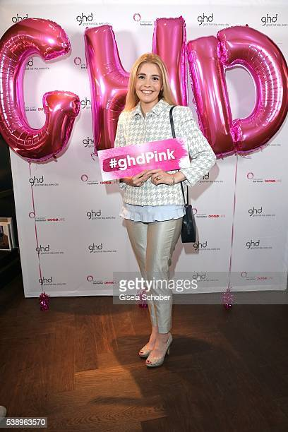 Princess Franziska zu SaynWittgensteinBerleburg poses during the ghd and DKMS Live Charity Event on June 8 2016 in Munich Germany