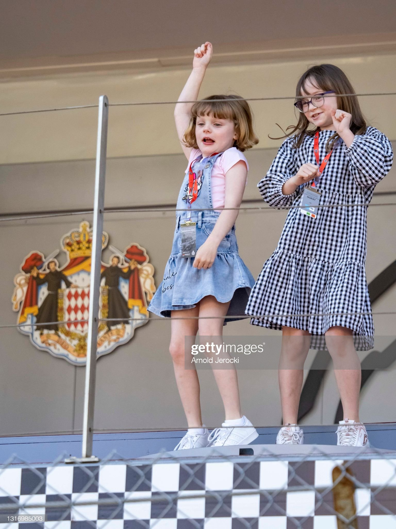 princess-gabriela-and-kaia-rose-wittstock-attends-the-abb-fia-formula-picture-id1316985003