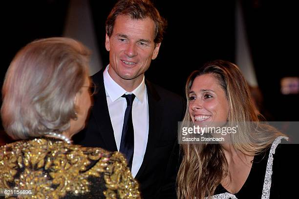 Princess Gabriela zu Sayn Wittgenstein, Jens Lehmann and Conny Lehmann attend the 10th anniversary celebration of the Christoph Metzelder Foundation...