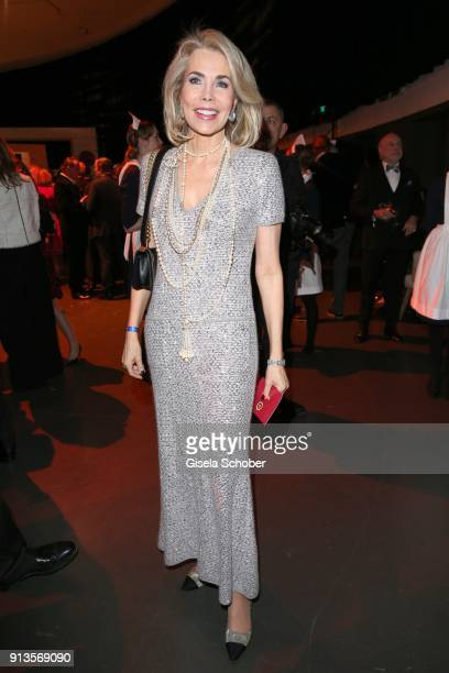 Princess Gabriele zu Leiningen during Michael Kaefer's 60th birthday celebration at Postpalast on February 2 2018 in Munich Germany