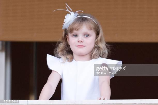 Princess Gabriella of Monaco attends the Fete de la Saint Jean on June 23, 2020 in Monaco, Monaco.