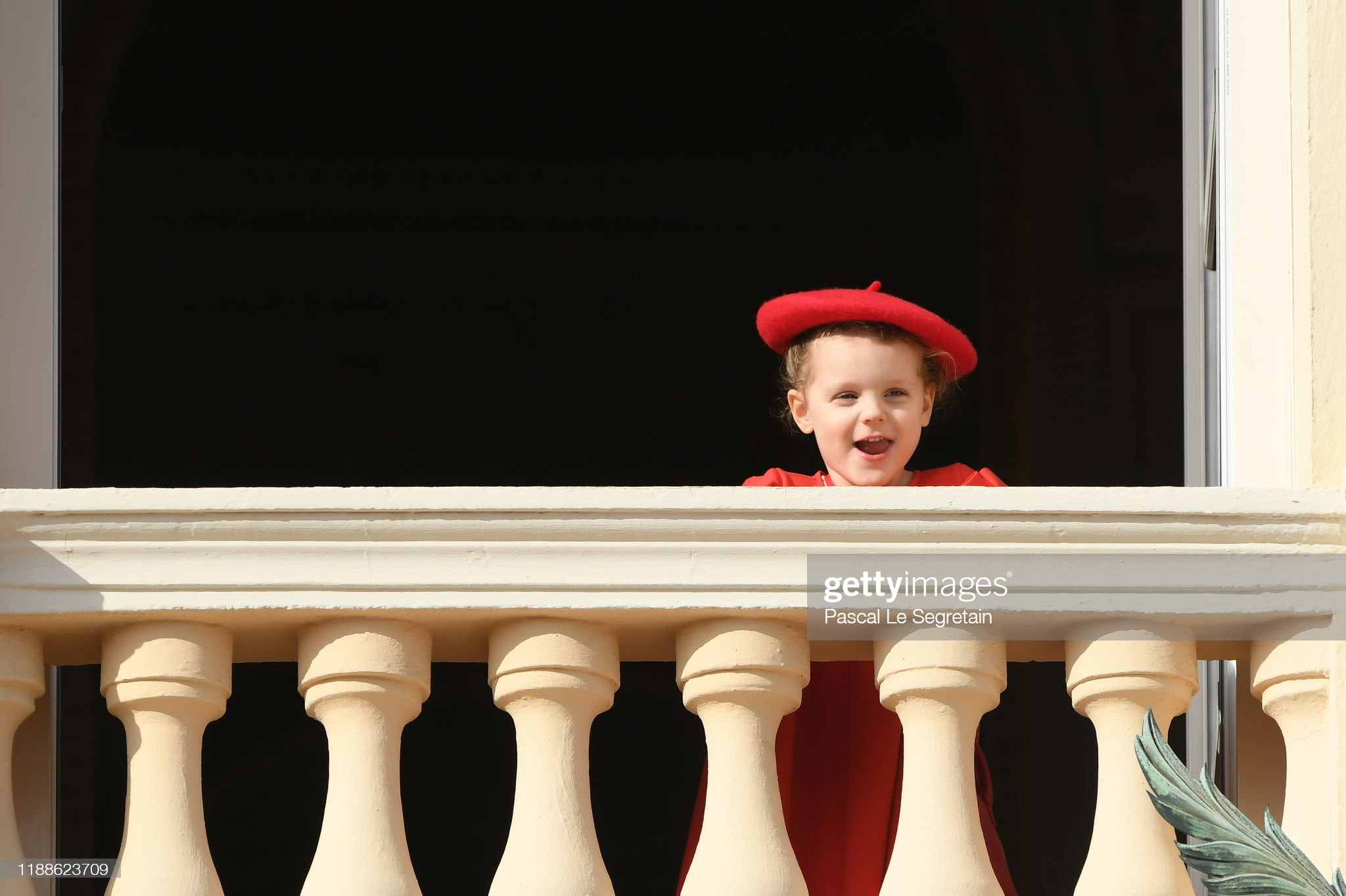 princess-gabriella-of-monaco-pose-at-the-palace-balcony-during-the-picture-id1188623709