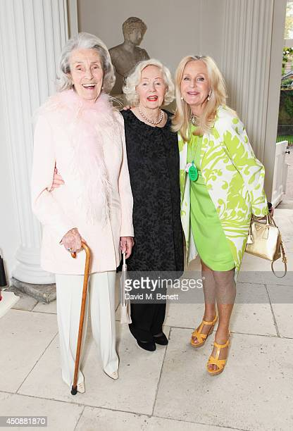 Princess George Galitzine Peggy Cummins and Liz Brewer attend the drinks reception hosted by Dockers the San Francisco based apparel brand at...
