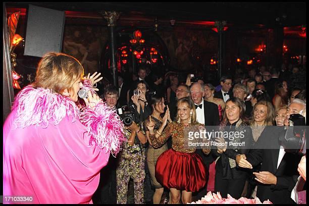 Princess Gloria Von Thurn Und Taxis her sister Princess Maya Von Schoenbur Guchau Lord Jacob of Rothschild Princess Alessandra Borghese at Gloria Von...