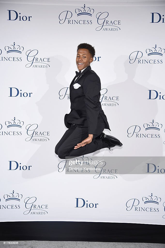 Princess Grace Dance Award Winner Tyson Clark attends the 2016 Princess Grace Awards Gala with presenting sponsor Christian Dior Couture at Cipriani 25 Broadway on October 24, 2016 in New York City.