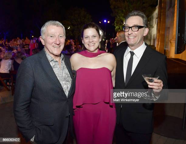 Princess Grace FoundationUSA Chairman John F Lehman Executive Director Princess Grace FoundationUSA Toby Boshak and Tom Kenny attend the 2017...