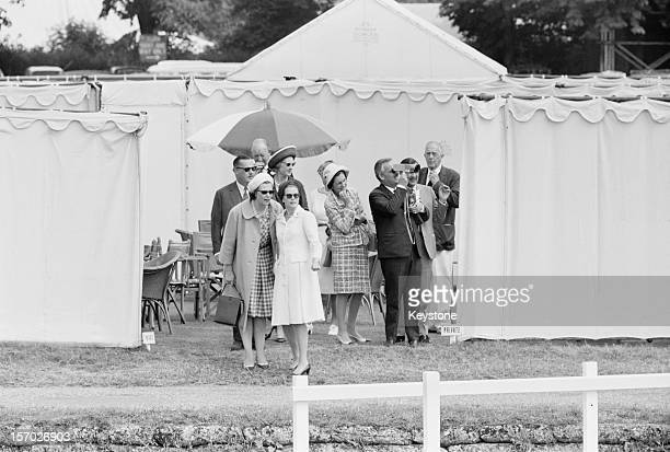 Princess Grace of Monaco and her husband Prince Rainier III at Henley Royal Regatta, Henley-on-Thames, Oxfordshire, 3rd July 1965.
