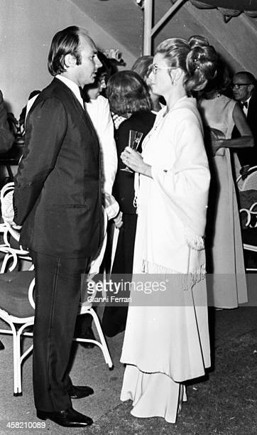 Princess Grace of Monaco and Prince Ali Khan in a party in Marbella Marbella Malaga Spain