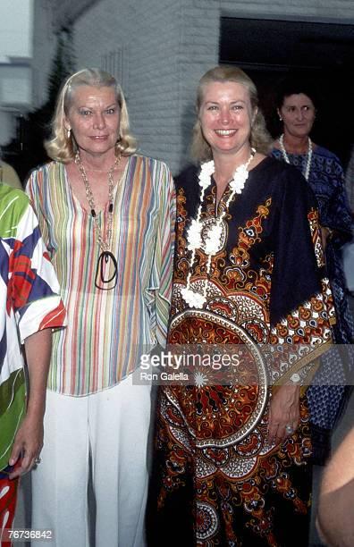 Princess Grace of Monaco and sister