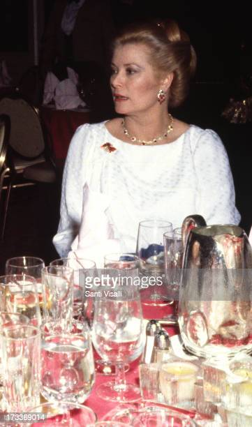 Princess Grace of Monaco at a party on September 241982 in New York New York