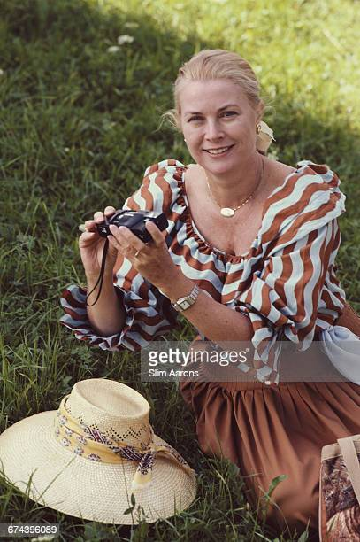 Princess Grace of Monaco in Salzburg Austria 1981