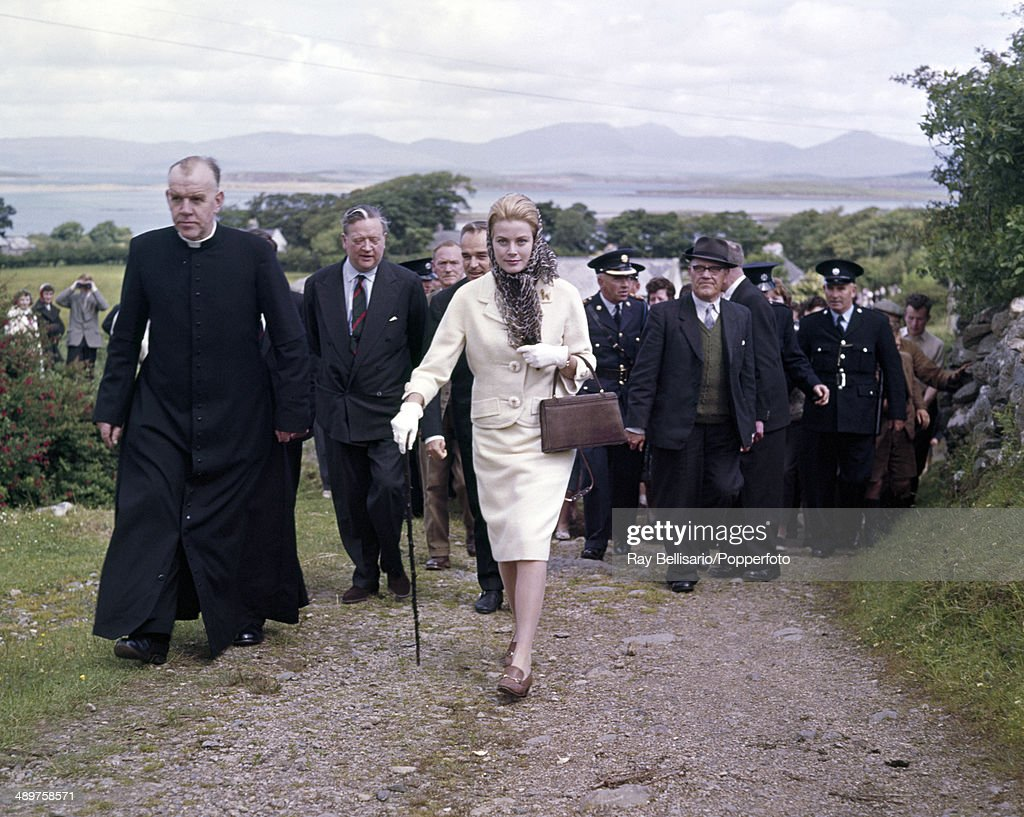 Princess Grace Of Monaco During A Visit To Ireland : News Photo