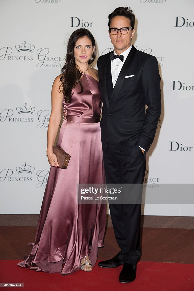 Princess Grace Statue Award Recipient Cary Fukunaga and Daniella Perez Lopez attend the 2015 Princess Grace Awards Gala With Presenting Sponsor Christian Dior Couture at Monaco Palace on September 5, 2015 in Monte-Carlo, Monaco.