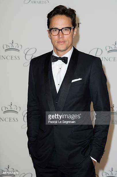 Princess Grace Statue Award Recipient Cary Fukunaga attends the 2015 Princess Grace Awards Gala With Presenting Sponsor Christian Dior Couture at...
