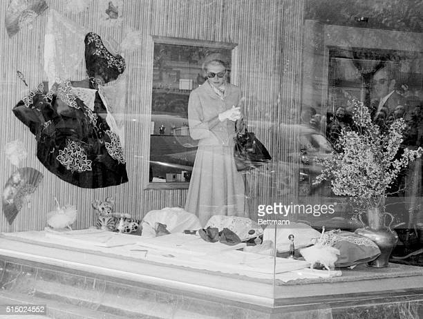 Princess Grace Takes One Last Look While Prince Waits. Palma De Mallorca, Spain: Princess Grace of Monaco keeps his serene highness Rainier III...