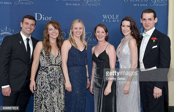 Princess Grace Theater Award Winners Ryan Purcell Kate Cortesi Kelly O'Sullivan Kaitlen Osbourn Emma Duncan and Daniel T Matthews attend the 2014...