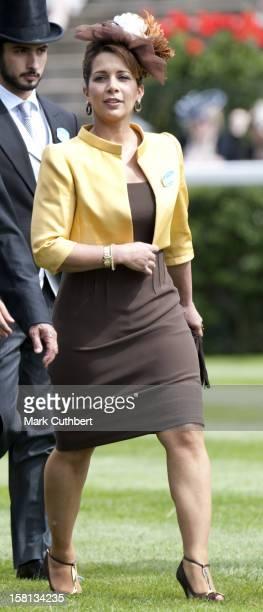 Princess Haya Bint Al Hussein At Royal Ascot On The Final Day Of The 2009 Meeting