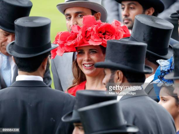 Princess Haya Bint Al Hussein attends day 3 Ladies Day of Royal Ascot at Ascot Racecourse on June 22 2017 in Ascot England