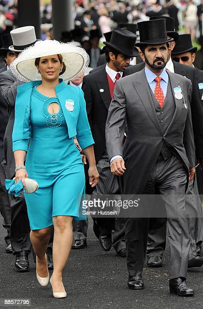 Princess Haya Bint Al Hussein attends Ladies Day of Royal Ascot at Ascot Racecourse on June 18 2009 in Ascot England