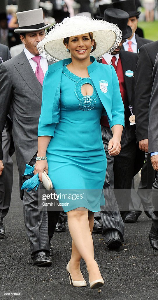 Princess Haya Bint Al Hussein attends Ladies Day of Royal Ascot at Ascot Racecourse on June 18, 2009 in Ascot, England.