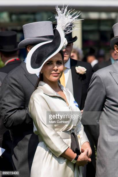 Princess Haya Bint Al Hussein attends Royal Ascot 2017 at Ascot Racecourse on June 21 2017 in Ascot England