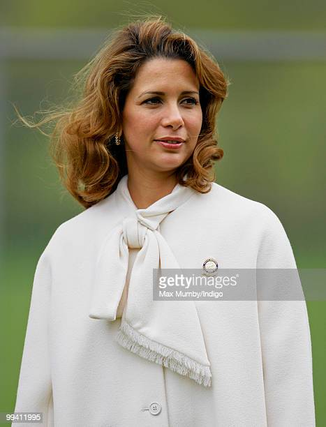 HRH Princess Haya Bint Al Hussein of Jordan attends day 3 of the Royal Windsor Horse Show on May 14 2010 in Windsor England