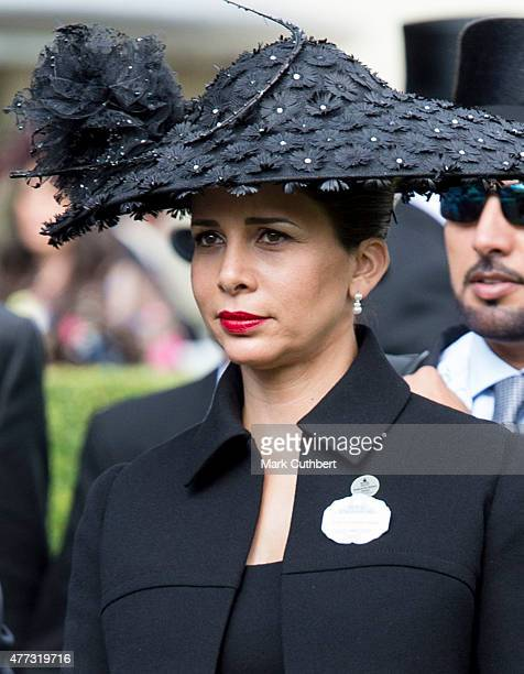 Princess Haya Bint Al Hussein on day 1 of Royal Ascot at Ascot Racecourse on June 16, 2015 in Ascot, England.