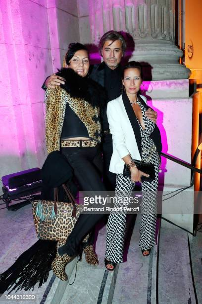 Princess Hermine de ClermontTonnerre Hair Stylist Alexandre Zouari and Adriana Bittencourt attends the Avon Life Colour Party By Kenzo Takada as part...