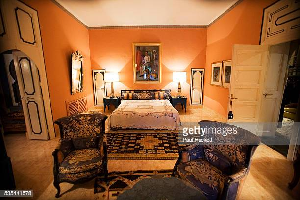 Princess Hetti von Bohlen und Halbach the daughterinlaw of the German arms magnate at her house Bled Targui in Marrakesh The scene of many a lavish...