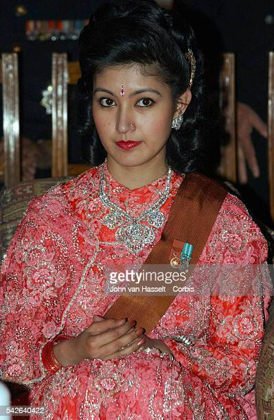 Princess Himani at the ceremony at the royal palace.The Himalayan kingdom witnessed its biggest social event in years : the marriage of King...
