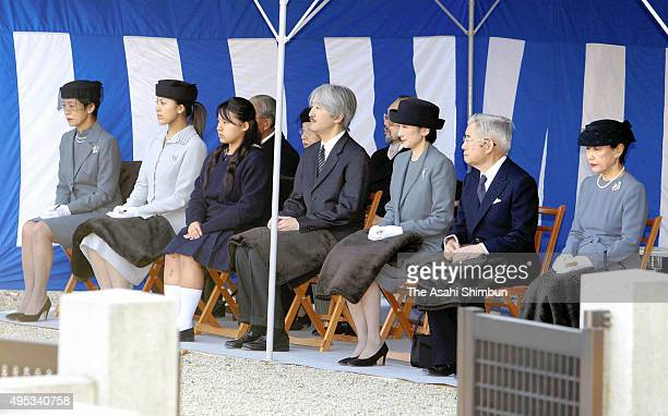 Princess Hisako widow of late Prince Takamado Princess Tsuguko Princess Noriko Prince Akishino Princess Kiko of Akishino Prince Hitachi and Princess...