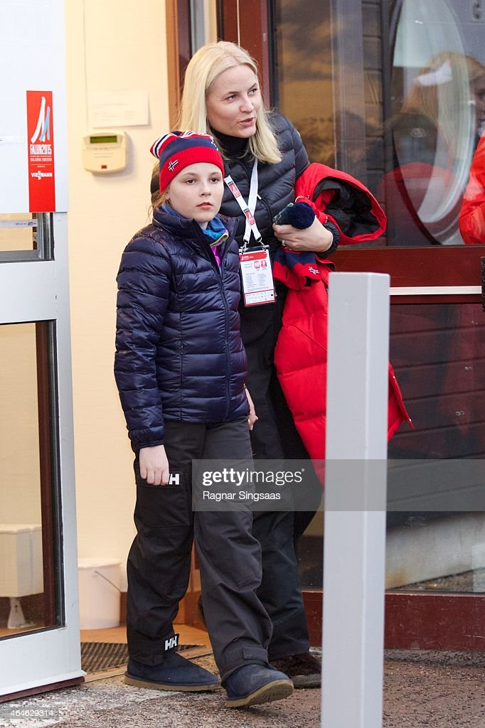 Swedish Royals Attend World Ski Championships in Falun - Day 1 : News Photo