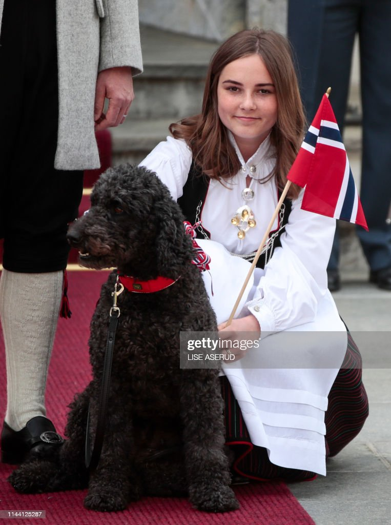 NORWAY-ROYALS-NATIONAL-DAY : News Photo
