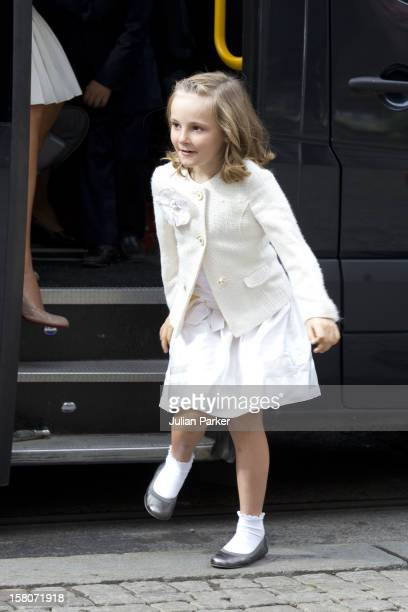 Princess Ingrid Alexandra Of Norway Attending A Concert To Mark The 10Th Wedding Anniversary Of Crown Prince Haakon And Crown Princess MetteMarit Of...