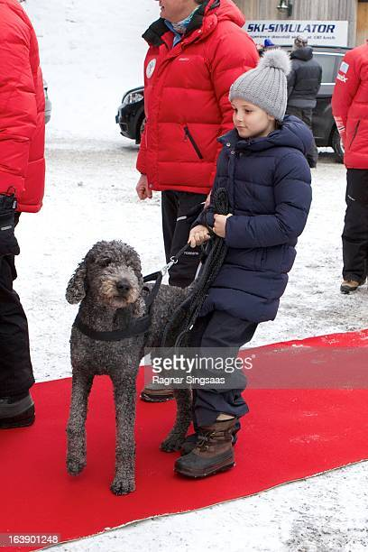Princess Ingrid Alexandra of Norway attends FIS World Cup Nordic Holmenkollen 2013 on March 17 2013 in Oslo Norway
