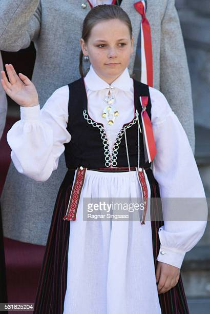 Princess Ingrid Alexandra of Norway celebrates National Day on May 17 2016 in Asker Norway