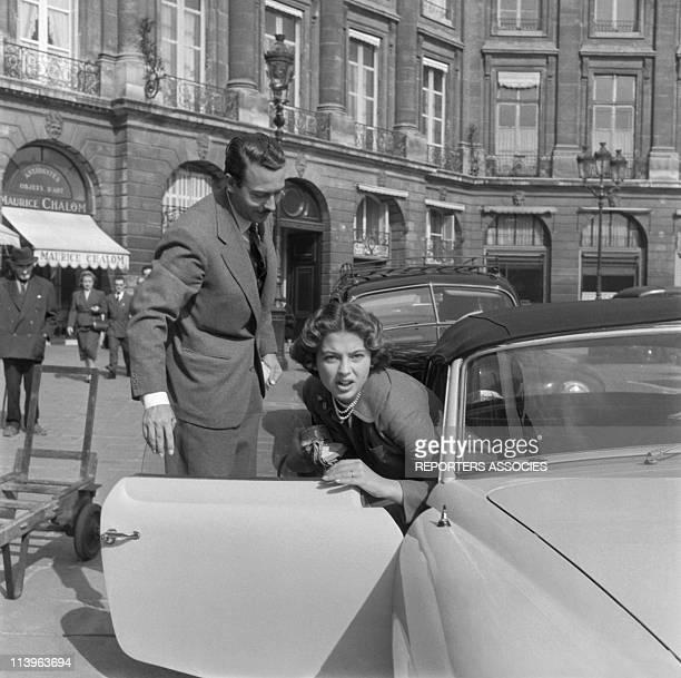 Princess Ira of Furstenberg Wedding In Venice Italy In September 1955Princess Ira of Furstenberg and Prince Alfonso HohenloheLangenburg on the Place...