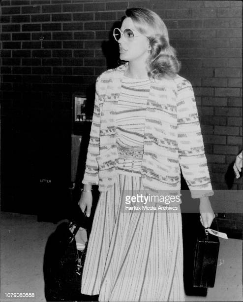 Princess Ira von Furstenberg in Sydney today The Princess is in Australia to help raise funds for medical research April 25 1980