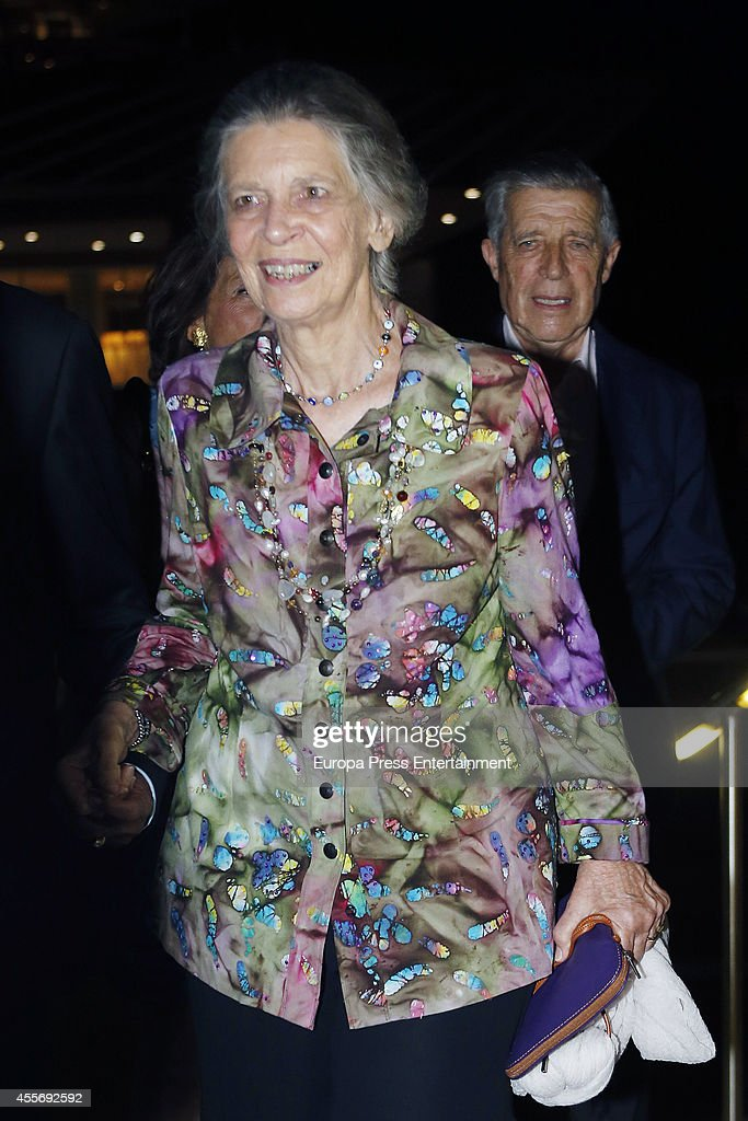 Princess Irene of Greece attends the Golden Wedding Anniversary of King Constantine II and Queen Anne Marie of Greece at Acropolis Museum on September 17, 2014 in Athens, Greece.